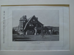House of B. Frank Wood, Esq., Pasadena, CA, 1899, H. Ridgeway