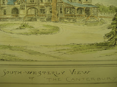 The Canterbury, 1882