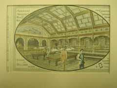 Design for the Billiard Room in the Country Hotel, 1881