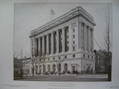 Union Trust Co.'s Building, Washington, DC, 1908, Messrs. Wood, Donn & Deming