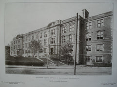 Engineering Building: University of Pennsylvania, Philadelphia, PA, 1906, Cope & Stewardson