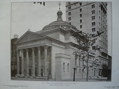New Madison-Square Presbyterian Church, New York, NY, 1906, McKim, Mead & White