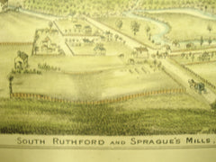 South Ruthford and Sprague's Mills, Fillmore County, MN, 1890