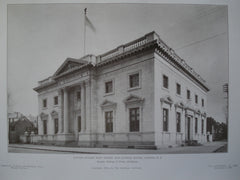 United States Post Office and Custom House, Camden, NJ, 1905, Rankin, Kellogg & Crane