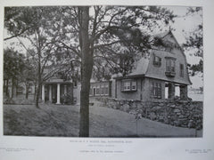 House of G.F. Wilett, Esq., Manchester, MA, 1905, Allen & Collins