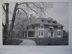 House of George B. Baker, Esq., Chestnut Hill, MA, 1905, Chapman & Frazer