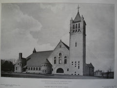 Congregational Church, Wakefield, MA, 1905, Hartwell, Richardson & Driver
