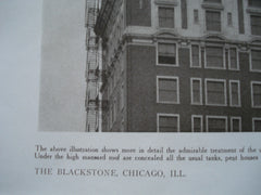 The Blackstone, Chicago, IL, 1910, Marshall & Fox