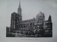 Strasbourg Cathedral, South View , Strasbourg, France, EUR, 1886