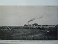 Minnesota Sugar Company- General View of the Buildings , St. Louis Park, MN, 1903