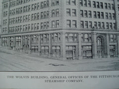 Wolvin Building, General Offices of the Pittsburgh Steamship Company , Duluth, MN, 1903