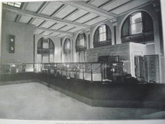 Interior of the Merchants National Bank , St. Paul, MN, 1903