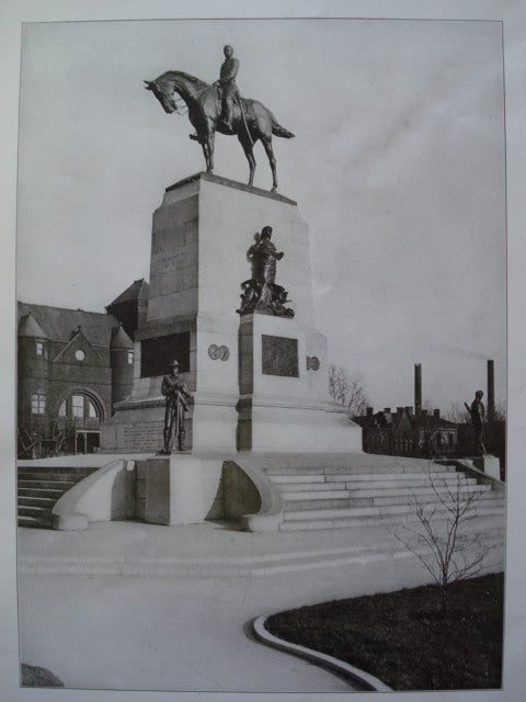 Monument to General W.T. Sherman, Washington, DC, 1906, Carl Rohl-Smith, Sculptor