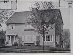 House of Winfield Smith, Esq., Brookline, MA, 1913, E.B. Stratton