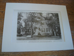 House of Richard Webb, Esq., Portland, ME, 1909, J.C. & J.H. Stevens