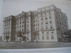 The Kenesaw Apartments, Washington, DC, 1909, George W. Stone & Frank L. Averill