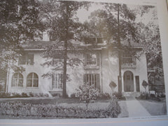 House of H.W. Crowell, Esq., Glenridge, NJ, 1909, Davis, McGrath & Kiessling