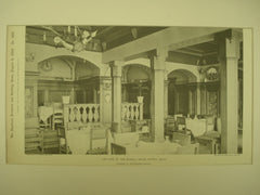 Cafe of the Russell House , Detroit, MI, 1898, Alpheus W. Chittenden