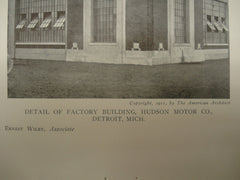 Administration and Factory Buildings of the Hudson Motor Company , Detroit, MI, 1911, Mr. Albert Kahn