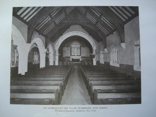 St. George's by the River, Seabright, NJ, 1913, Walker & Gillette