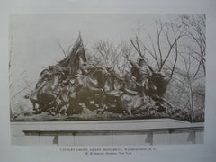 Calvary Group of the Grant Monument, Washington, DC, 1917, H.M. Shrady [Sculptor]