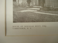 House of Douglas Kent, Esq., Tarrytown, NY, 1909, Messrs. Ewing & Chappell