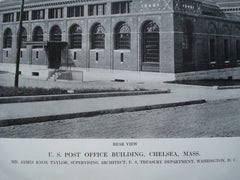 U.S. Post Office Building , Chelsea, MA, 1912, Mr. James Knox Taylor