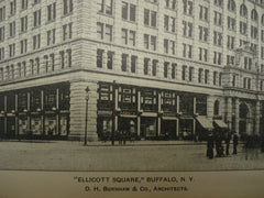Ellicott Square , Buffalo, NY, 1900, D. H. Burnham & Co.
