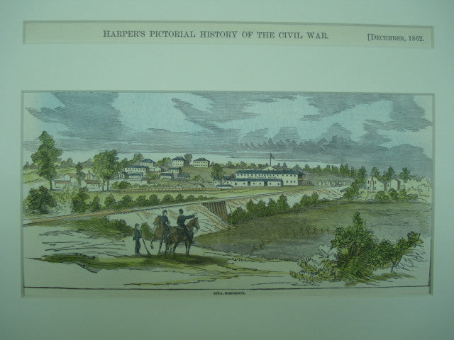 Scene of Iuka, Mississippi , Iuka, MS, 1862, n/a