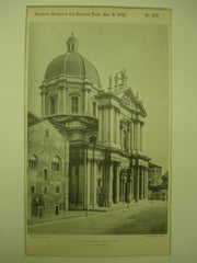 New Cathedral , Brescia, Italy, EUR, 1897, G. B. Lontana