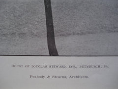 of the House of Douglas Steward, Esq. , Pittsburgh, PA, 1907, Peabody & Stearns