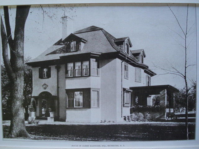 House of Albert Eastwood, Esq. , Rochester, NY, 1907, Claude Fayette Bragdon