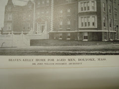Beaven-Kelly Home for Middle Aged Men , Holyoke, MA, 1913, Mr. John William Donohue