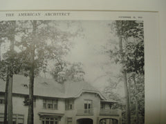 House of John S. Norton, Mountain, NJ, 1915, Wilder and White