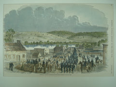 Scene of General Stone's Division at Edward's Ferry, 1861, n/a
