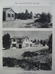 Offices and Stores in the Civic Center , Rancho Santa Fe, CA, 1928, Requa & Jackson