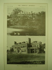 House of Stedman Buttrick, Esq., Concord, MA, 1912, Mr. James Purdon