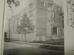 Flushing High School, Flushing, Long Island, NY, 1915, C. B. J. Snyder