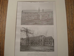 Cook County Infirmary, Lake Forest, IL, 1915, Schmidt, Garden and Martin