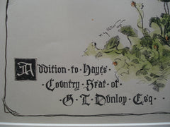 Addition to the Hayes County Seat of G.L. Dunlop, Esq. , Hayes County, NE, 1896, Donn and Peter