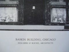 Baskin Building , Chicago, IL, 1928, Holabird & Roche