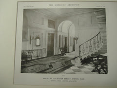 Hall, 118 Beacon St., Boston, MA, 1915, Little and Brown