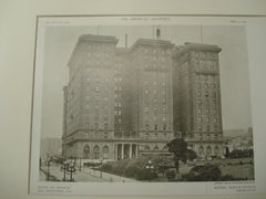 Hotel St. Francis, San Francisco, CA, 1909, Bliss and Faville
