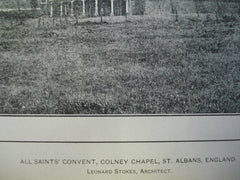 All Saints' Convent, Colney Chapel , St. Alban's, England, UK, 1903, Leonard Stokes