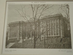 Second Ward School, Atlanta, GA, 1909, Haraldson Bleckley