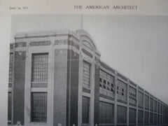 Main Factory Building for the Hudson Motor Co., Detroit, MI, 1911, Albert Kahn, Ernest Wilby