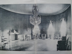 Blue Room in the White House , Washington, DC, 1903, Unknown