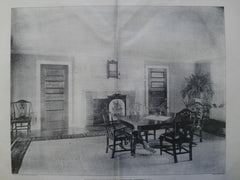 Dining Room in the House of Bradford Norman Esq., Portsmouth, RI, 1903, Winslow & Bigelow