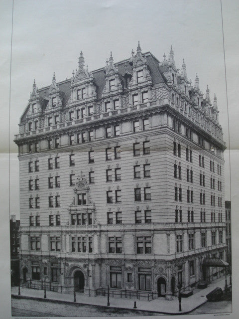 Hotel Navarre on 77th Avenue and 38th Street , New York, NY, 1901, Barney & Chapman