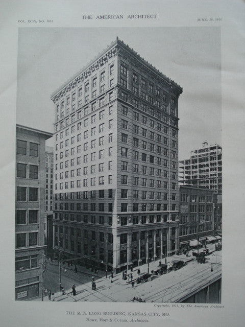 R.A. Long Building , Kansas City, MO, 1911, Howe, Hoit & Cutler
